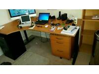 Full office furniture set