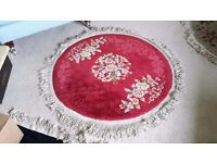 Two heavy quality chinese rugs.
