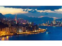 London to Hong Kong - Discount Flight Tickets - Departure March/April