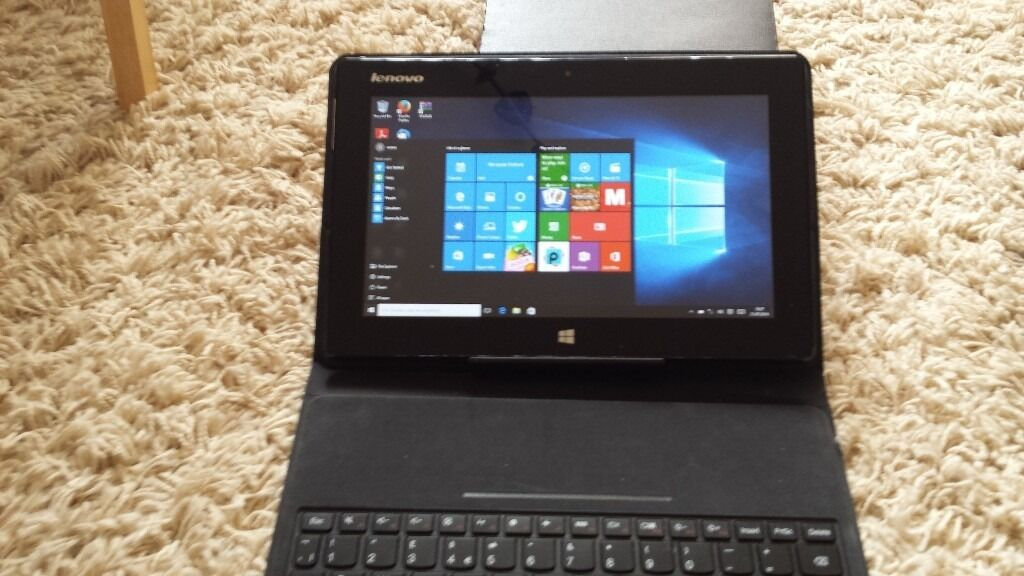 """LENOVO TABLET/NETBOOK .BOXED PERFECTDOCKING PE31in Kings Lynn, NorfolkGumtree - LENOVO tablet idea pad mii xio with charger ,• Intel Atom Dual Core processor • 10.1"""" HD display (1366x768) touchscreen with IPS wide view technology • 64GB eMMC storage, with up to 32GB add on micro SDHC card support • 2GB LP DDR2 memory..."""