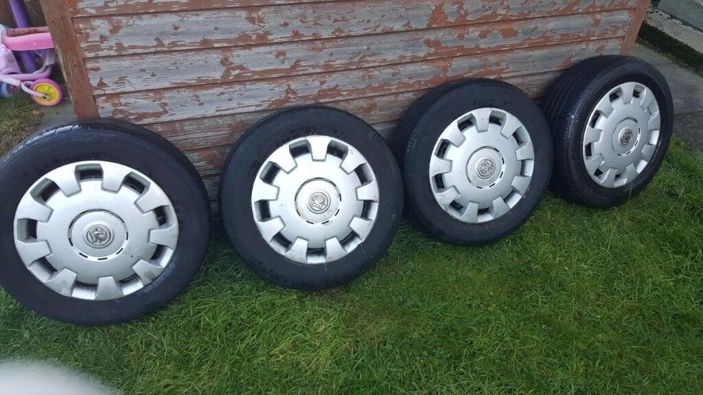 4x Vauxhall wheels and tyres 195/65/15