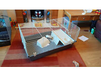 Indoor Rabbit Cage with various accessories (as new)