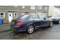 Mercedes c220 cdi 2008 year manual spare parts available