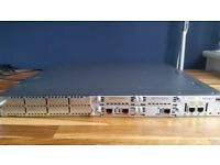 Cisco Router 2811 with expansion cards CCNA CCNP
