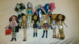 Monster High and Brats dolls