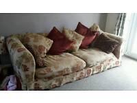 Extra large family sofa