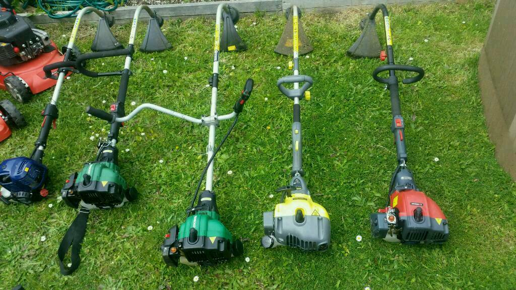 Petrol mowers strimmers chainsaw