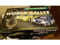 Rare SCALEXTRIC WORLD RALLEY RENAULT MEGANE C1018 TESTED AND WORKING