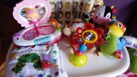 Baby toys and soft book