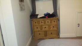 Chest of drawers, 2 pieces