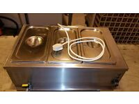 3 Pans Heavy Duty Bain Marie. With Pans and Lids. Available in London NW10