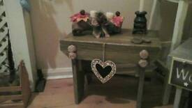 3 pretty wee stools