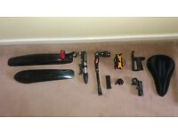 Mountain Bike Accessories - Lights, Pump, Stand, Mudguards etc