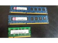 pc and laptop memory