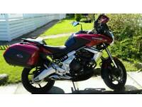 Kawasaki versys motorbike