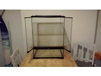 Exo Terra 45x45x60 Glass Terrarium + Extras
