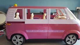 Barbie's VW Camper van