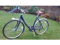 Ladies Hybrid Rigdeback Bicycle for Sale