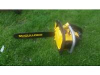 Mculloch chain saw