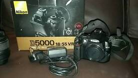 Nikon camera kitD5000& 18-55VR Kit