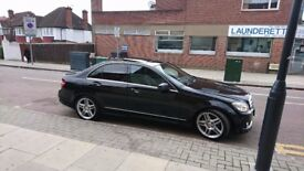 Mercedes-Benz C Class 2.1 C220 CDI Sport 4dr AMGstyling,fullleather,sunroof
