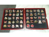 LIVERPOOL VICTORY PIN COLLECTION FROM DANBURY MINT