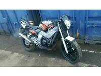 Honda nsr 125 full power two stroke
