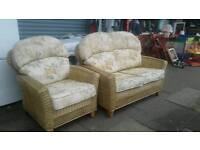 Conservatory chairs /Cane chairs