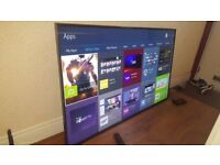 SAMSUNG 65-inch SUPER Smart 4K 3D UHD LED TV-65JU7000,built in Wifi,Freeview & Freesat HD