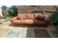 2 & 3 seater sofa (Free delivery to local delivery this weekend only)