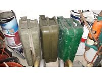**PETROL CAN**JERRY CAN**£10 EACH**GOOD CONDITION**AIR TIGHT**3 AVAILABLE**BARGAIN!!