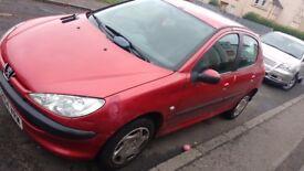 Peugeot 206 diesel 2004 mot 1 full year