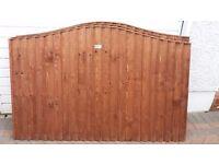 3x fence panels