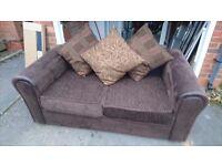 Sofa, brown