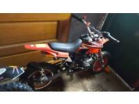 50cc mini moto 2ft from seat to floor