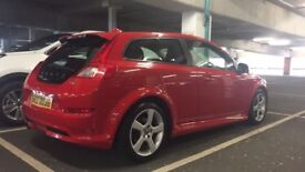 **VOLVO C30 R-DESIGN 2010 1.6D Drive** Diesel - Low Miles Not V40 Leon Astra Corsa Civic Megane Golf