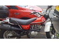 Suzuki van van gorgeous red