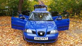 Seat Ibiza 1.2 12V Petrol - Blue