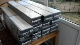 Engineered wood flooring, approx 21m sq