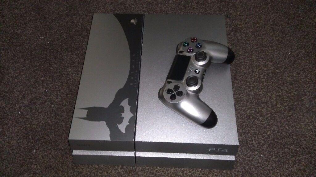PS4 Dark Knight edition