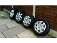 VW T5 ALLOY WHEELS ,GOOD CONDITION, ,GOOD TYRES, ,READY TO FIT, ,,