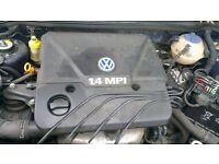 2001 VW Polo 6N2 1.4 8 valve engine