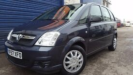 2007 VAUXHALL MERIVA LIFE A/C 1.3CDTI BLUE NEW TIMMING CHAIN EXCELLENT CONDITION