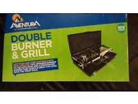 Aventura Camping Double Burner & Grill