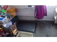 Dog Cage Dog Crate Dog Residence 118cm L x 76cm W 88cm