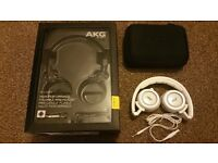 ONLY £40.00 - AKG K452 High-Performance On-Ear Headphones with In-line Microphone - RRP £79.99