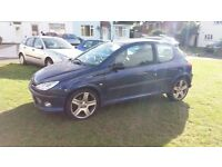PEUGEOT 206 GTi priced to clear