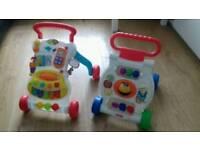 Baby walkers x2