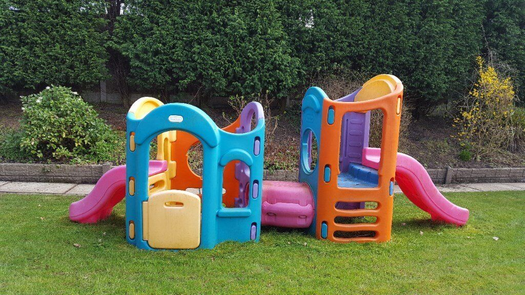 Little tikes 8 in 1 climbing frame playground in for Little tikes 8 in 1