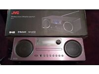 New JVC RD-D70 All-In-One Hi-Fi with Bluetooth, USB, DAB/FM Radio,CD Player+remote